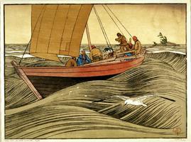York Boats on Lake Winnipeg