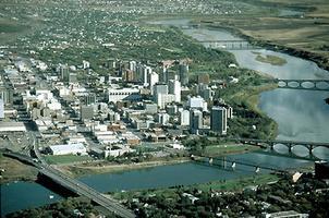 Saskatoon, photo aérienne de