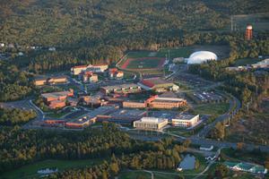 CBU Aerial View