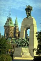 Parc commémoratif de la guerre à Ottawa