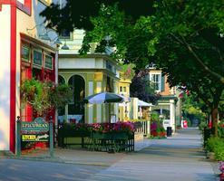 Niagara-on-the-Lake, paysage de rue de
