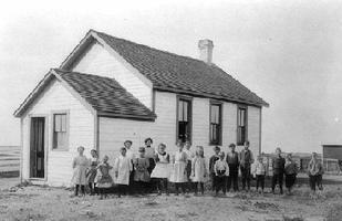 <em>School At Canoe Cove, P.E.I.</em>