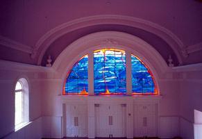 Grand Pré, vitrail