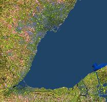 Golden Horseshoe, Satellite Image