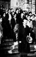 Lecture de la Loi contre les émeutes, 1949
