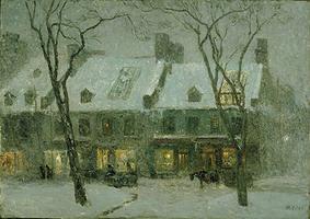 \u00ab Montréal, Old Houses \u00bb