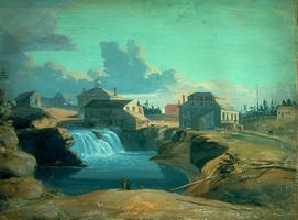 Moulin sur la rivière des Outaouais