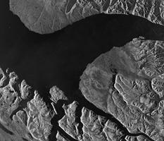 Pond Inlet from Space