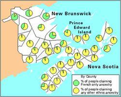 Descendance acadienne