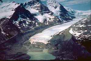 Columbia, champs de glace