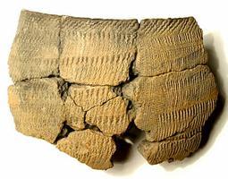Fragment de vase en céramique