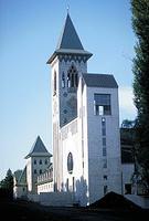 Saint-Benoît-du-Lac, vue extérieure de