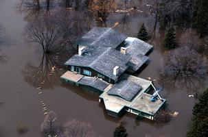 Inondation de la propriété de George Richardson