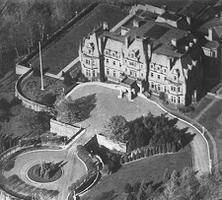 Chorley Park, aerial view, c 1930