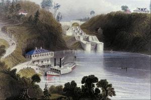 Écluses sur le canal Rideau