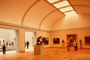 Musée des beaux-arts, vue intérieure du