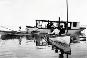Canotage sur le lac Gull