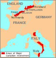 Deuxième Guerre mondiale (carte)