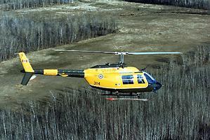 Jet Ranger, hélicoptère