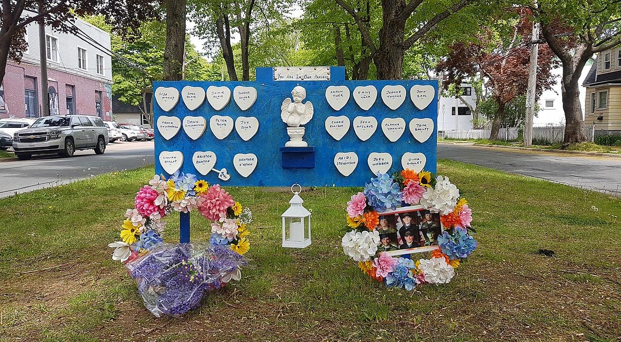 Nova Scotia Attacks Memorial
