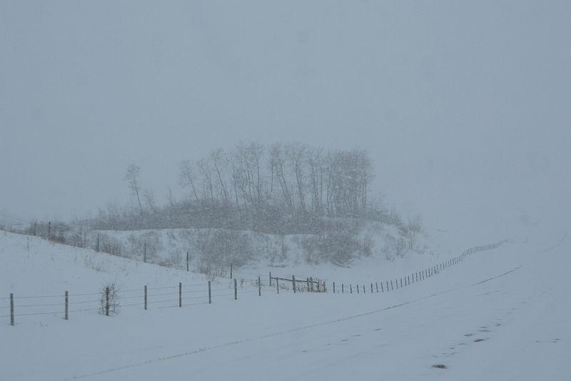 Tempête hivernale
