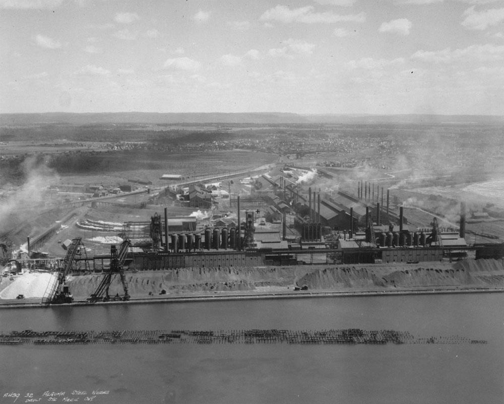 L'aciérie Algoma