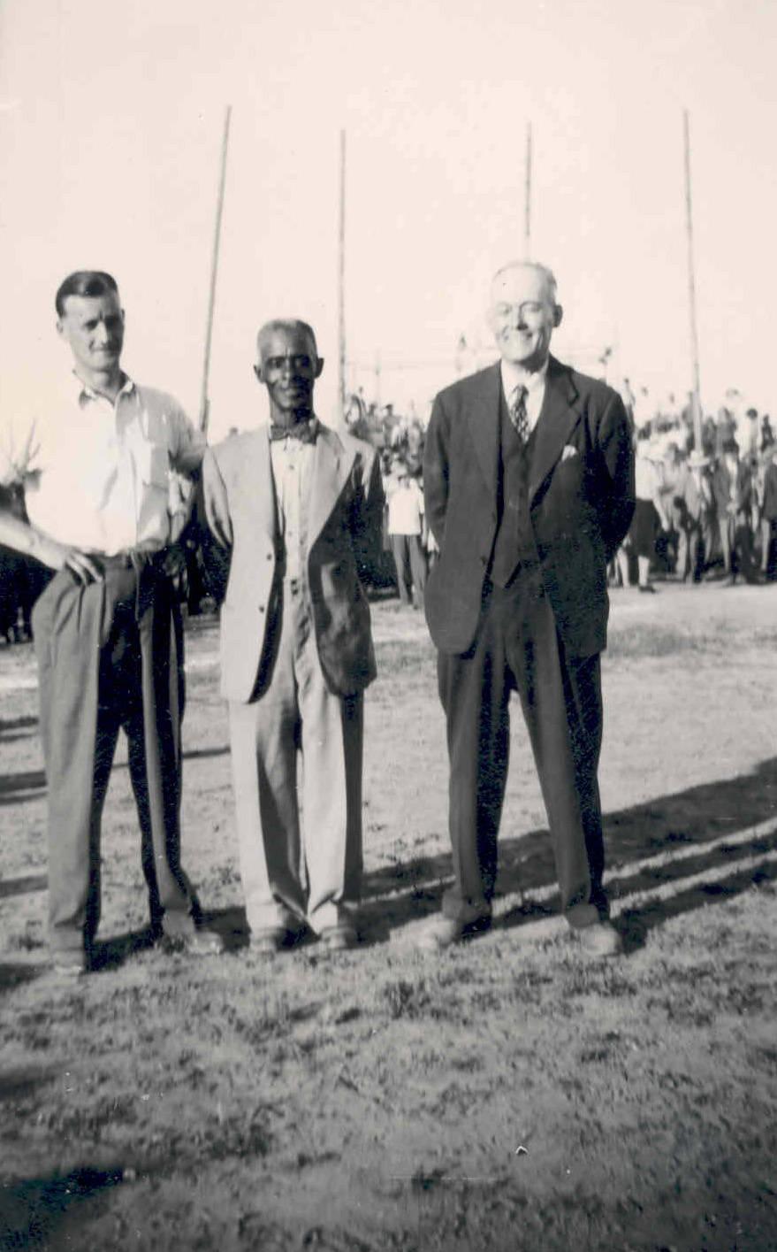 Jack Mackie, Jeff (J.D.) Edwards and B.W. Bellamy.