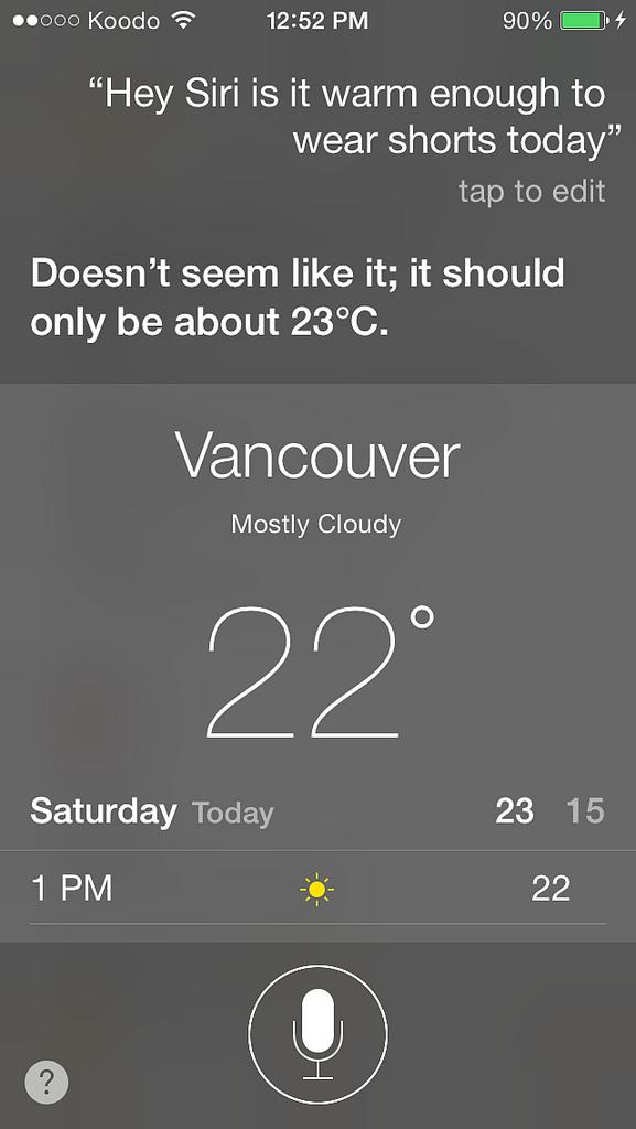 Apple's Siri