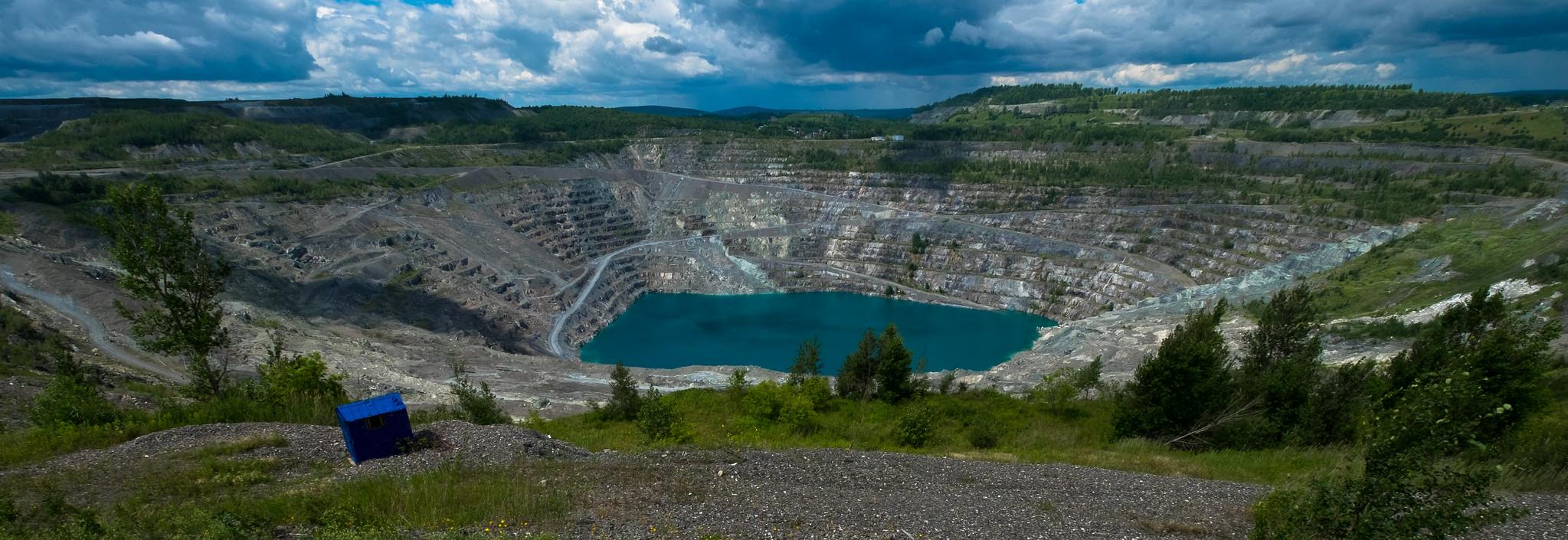 La mine Jeffrey en 2015
