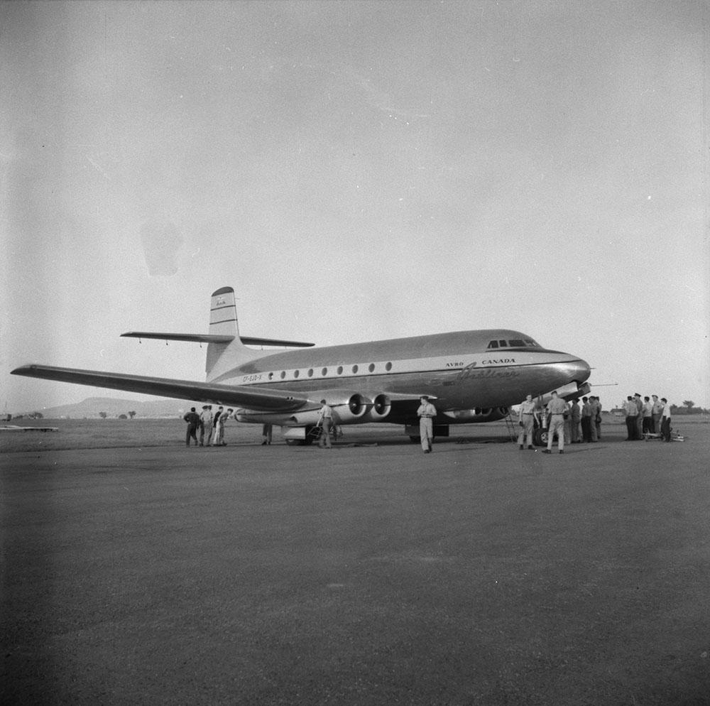 Avro Canada C-102 'Jetliner' aircraft