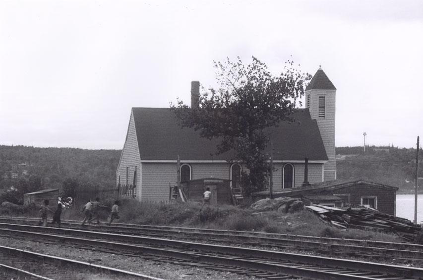 Seaview African United Baptist Church, Africville, circa 1965.