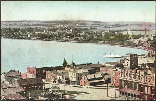 Barrie, Ontario, 1910