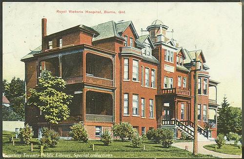 Hôpital Royal Victoria, Barrie, Ontario