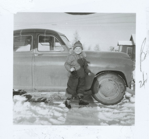 Bobby Clarke, à quatre ans