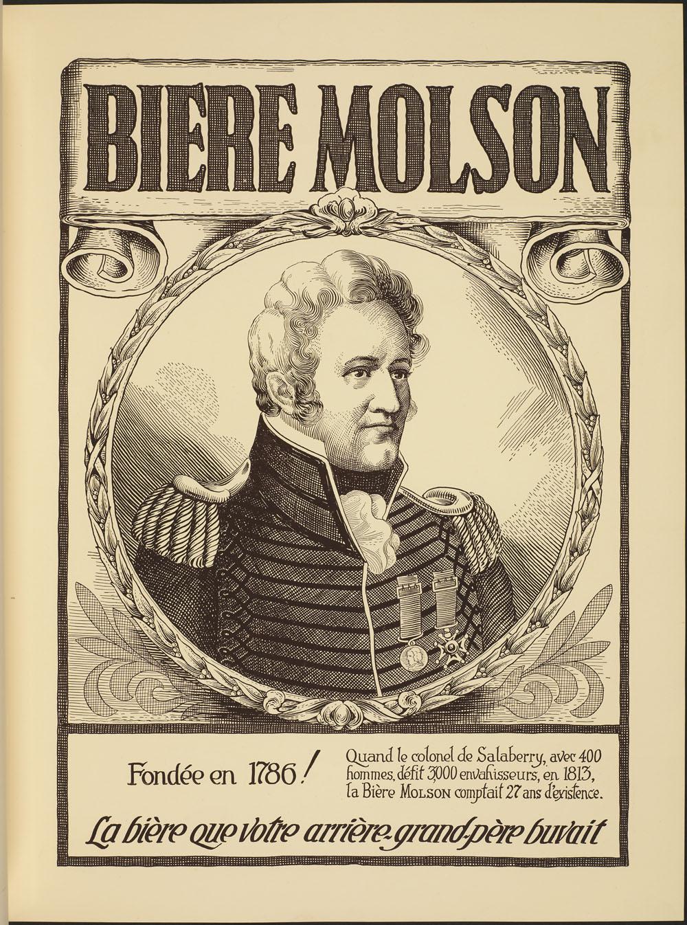 Bière Molson, le colonel de Salaberry