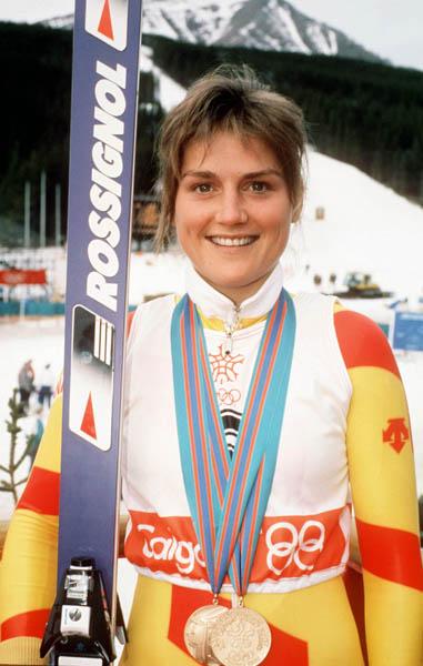 Karen Percy, 1988 Calgary Games
