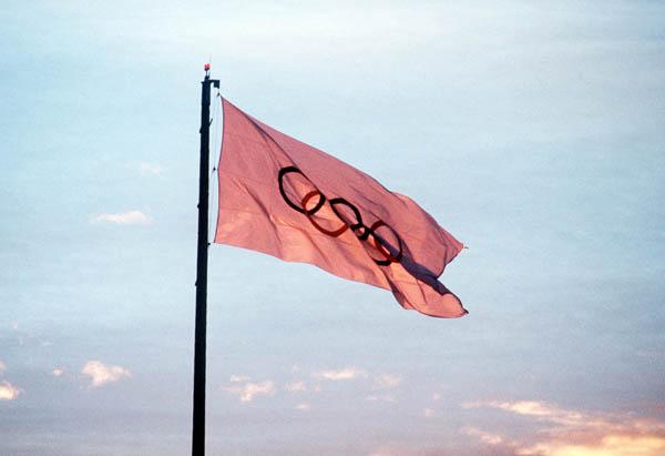 Olympic Flag, 1988 Calgary Games