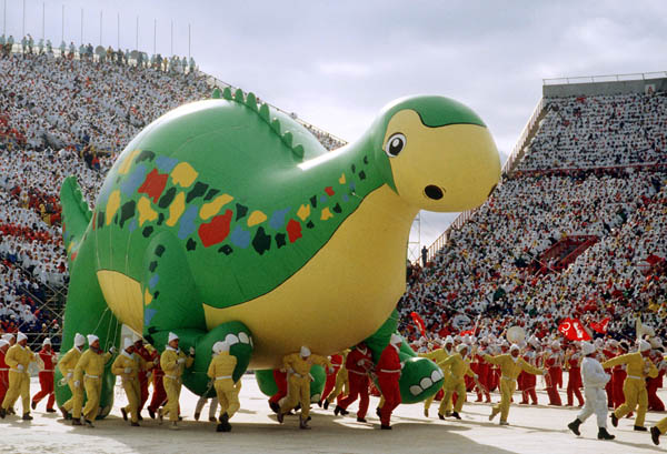 Opening Ceremonies, 1988 Calgary Games