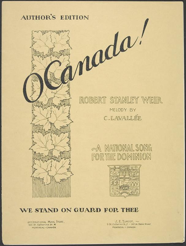 o-canada-sheet-music