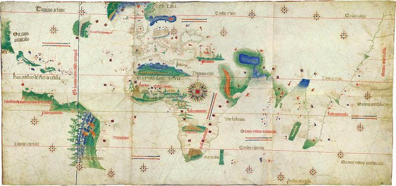 Cantino Chart, 1502