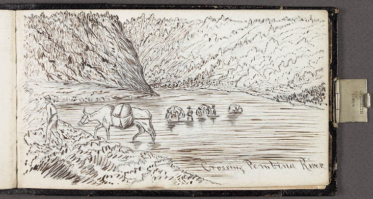 « Crossing the Pembina River, 1862 »