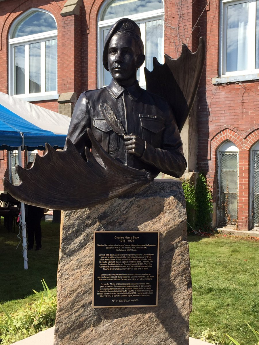 Bronze statue of Charles Henry Byce
