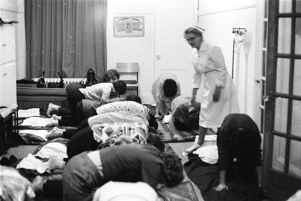Photo d'un cours d'accouchement