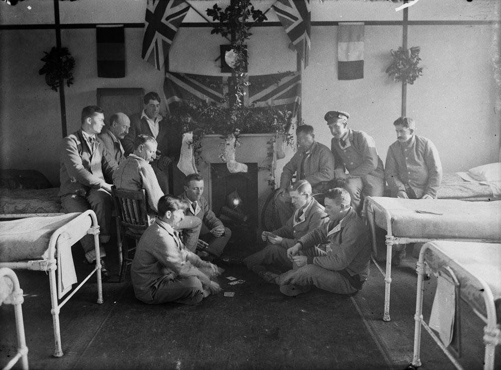 Noël 1917, hôpital Duchess of Connaught
