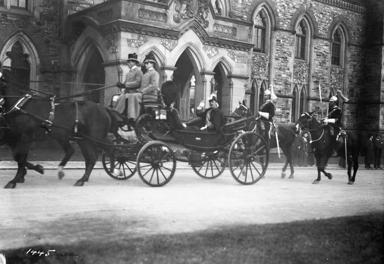 Earl Grey at Parliament