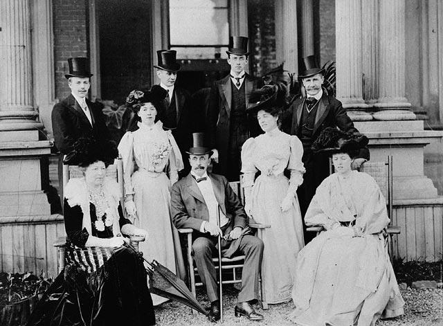 Earl Grey and Lady Grey at Rideau Hall