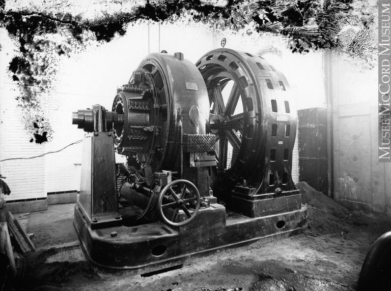 Photo of a generator