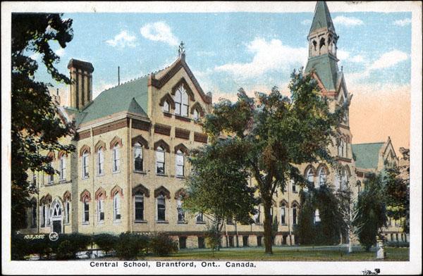 Central School de Brantford, Ontario
