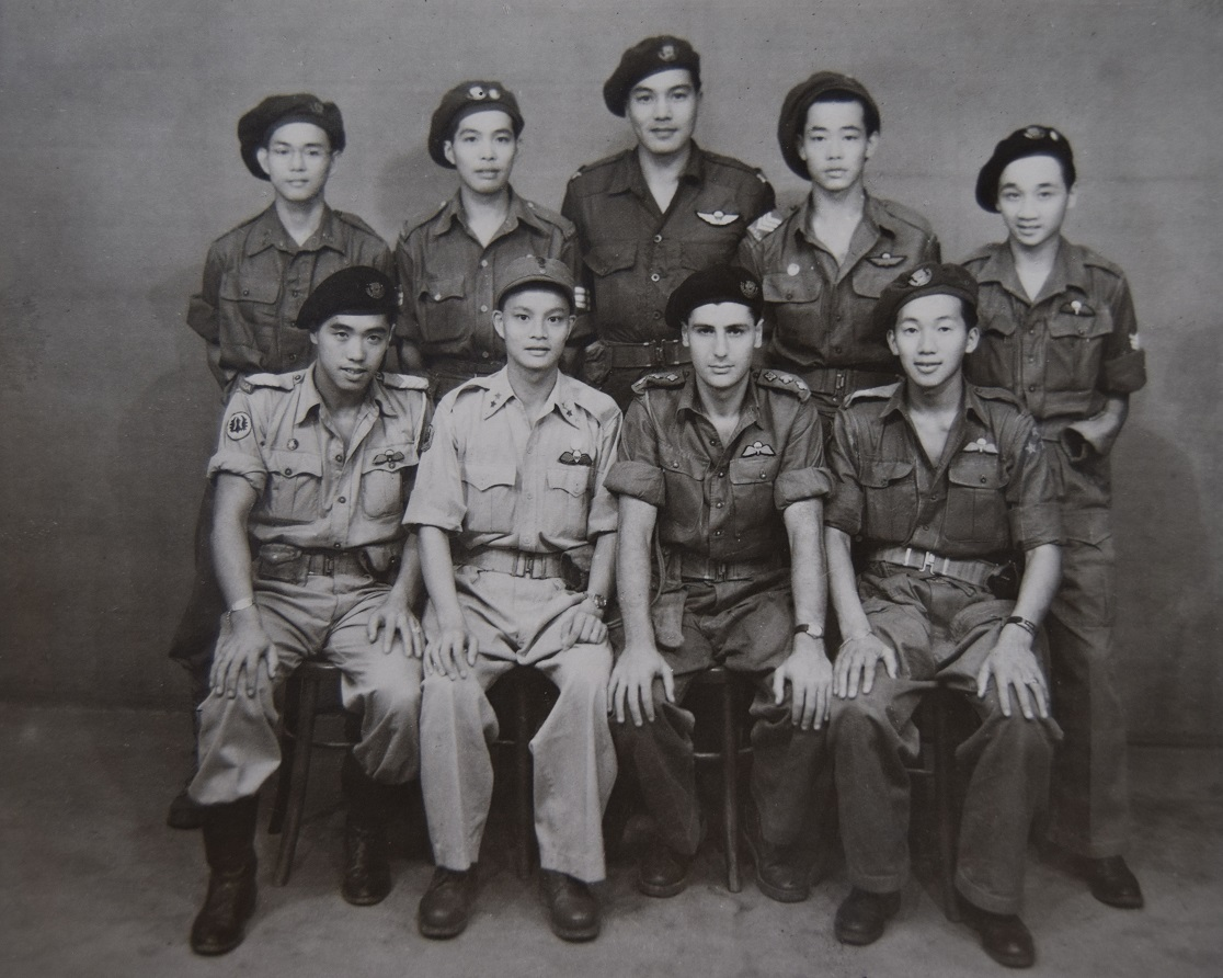 Chinese Canadian members of Force 136