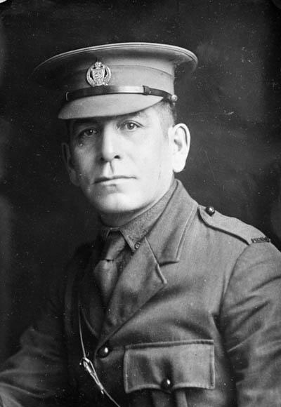 Lieutenant F.O. Loft, environ 1914-1918